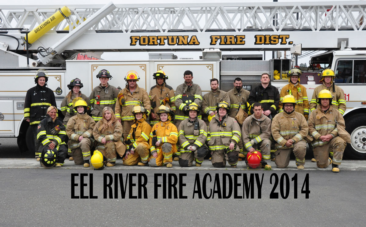 Eel River Fire Academy 2014
