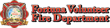 Fortuna Volunteer Fire Department Logo